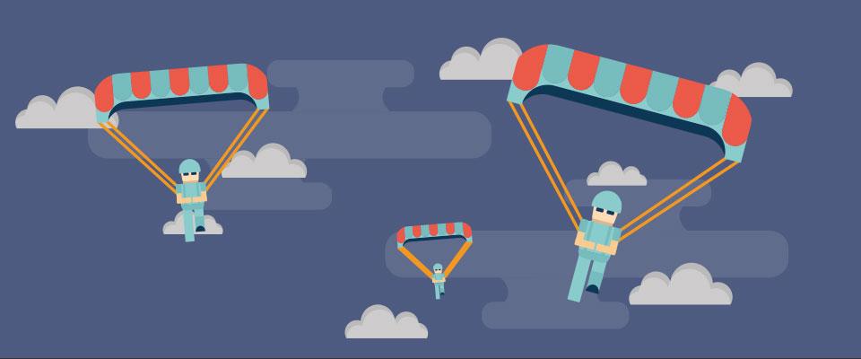 Le saut en parachute Québec